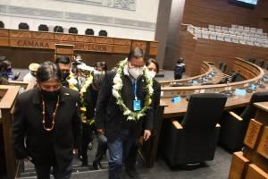 Luis Arce inaugura la nueva sede de la Asamblea Legislativa Plurinacional de Bolivia (FOTOS)