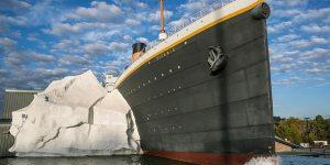 Al menos tres visitantes del Museo del Titanic en EEUU resultaron heridos tras colapso de réplica de iceberg