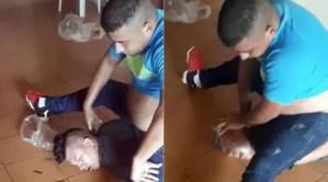 La oscura historia del ex militar venezolano y su pareja que grabaron la tortura a un joven delante de su pequeño hijo