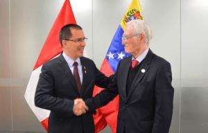 """Pese a reconocer a Maduro, Perú apuesta por la """"renovación democrática"""" en Venezuela"""