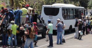 Escasez de combustible en Carabobo paraliza 80% de las unidades de transporte público