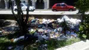 """Mérida """"presume"""" de nuevas montañas… pero de basura"""