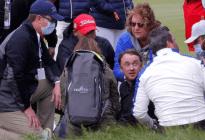 EN IMÁGENES: Actor de Harry Potter sufrió un incidente médico durante un torneo de golf