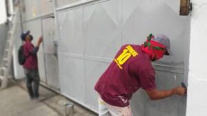Mientras la crisis hospitalaria empeora en Carabobo, el chavismo se dedica a pintar paredes