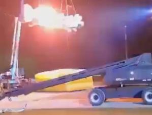 """Revelan las imágenes del terrible accidente durante un ensayo de """"America's Got Talent"""" (VIDEO)"""