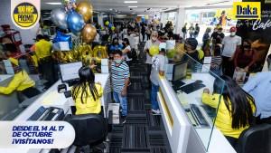 Llegaron las 100 Horas de Pura Promo ¡Recargadas! en Tiendas Daka