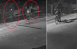 Cámaras captaron cómo un hombre apuñaló a un inmigrante para robarle su bicicleta en Manhattan